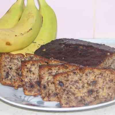 מתכון לעוגת בננות שוקולד צ'יפס