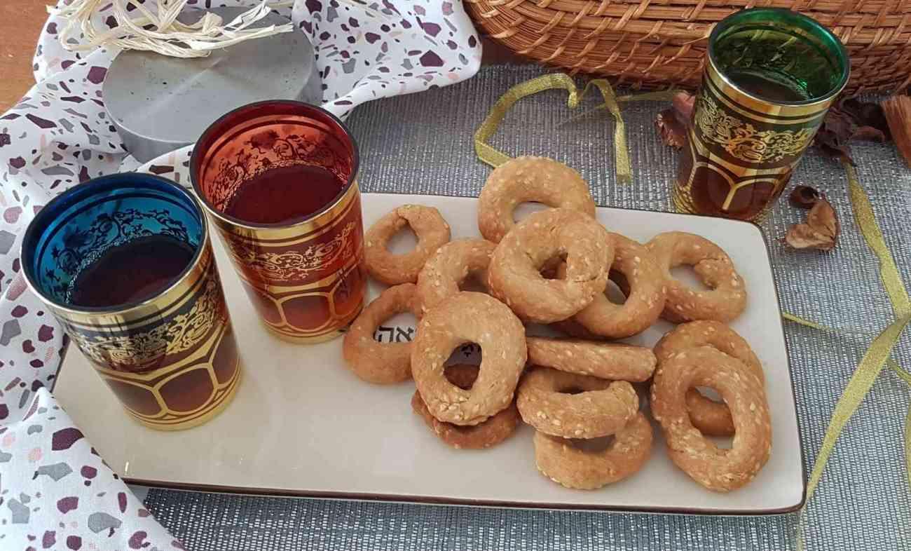 עוגיות עבאדי עם בירה