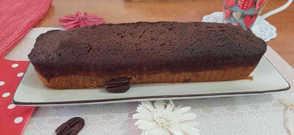 עוגת קפה עם שוקולד ופקאנים