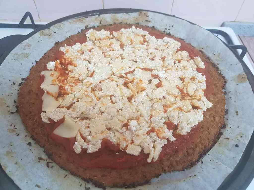 פיצה כרובית עם הפומפיה המסתובבת של בי פטנט