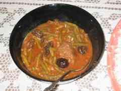 צ'רוכטמה – תבשיל בשר ושעועית