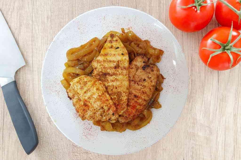 חזה עוף במחבת ברוטב פסטו