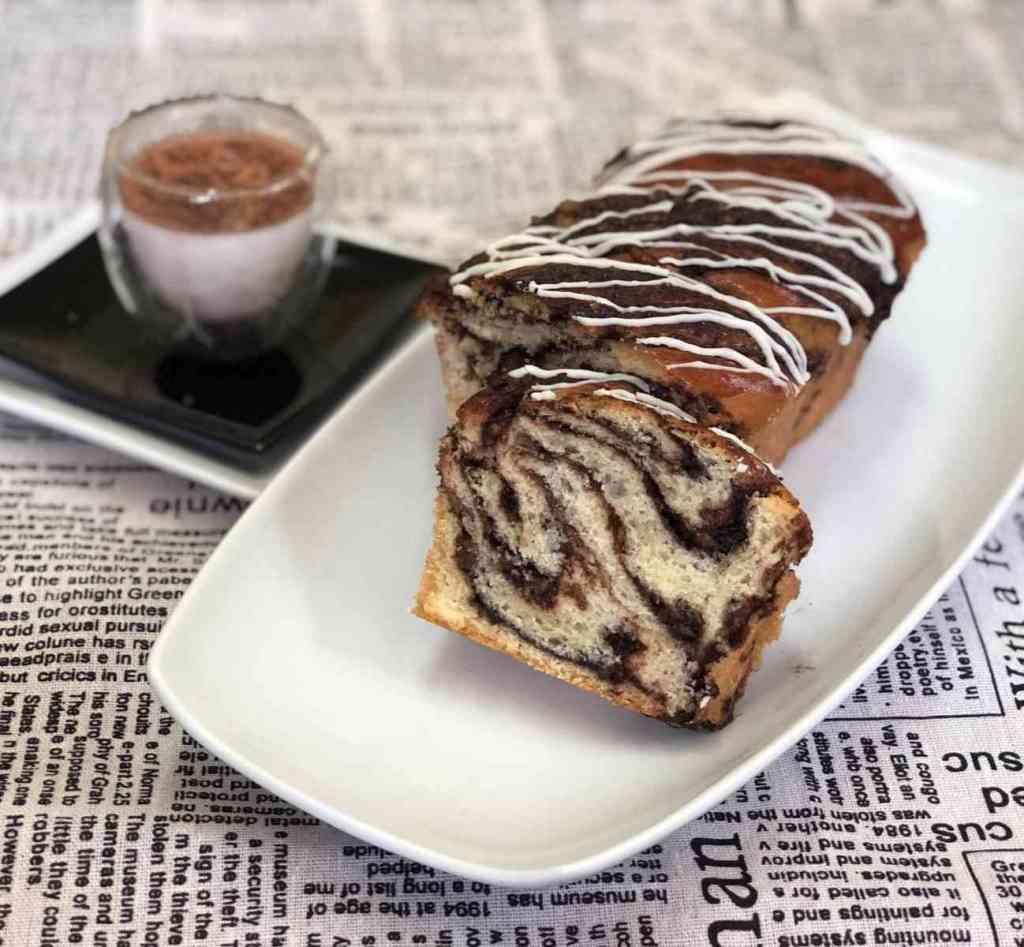 עוגת שמרים שוקולד ואגוזים סדנה של שלב אחר שלב בתמונות