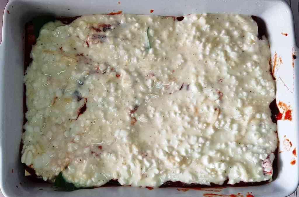 מתכון ללזניה עם גבינות חלבית