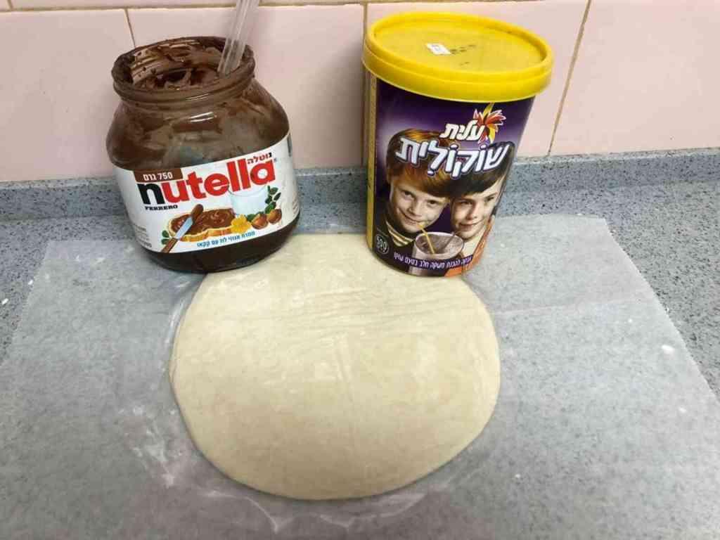 קרואסון שוקולד ממלאווח