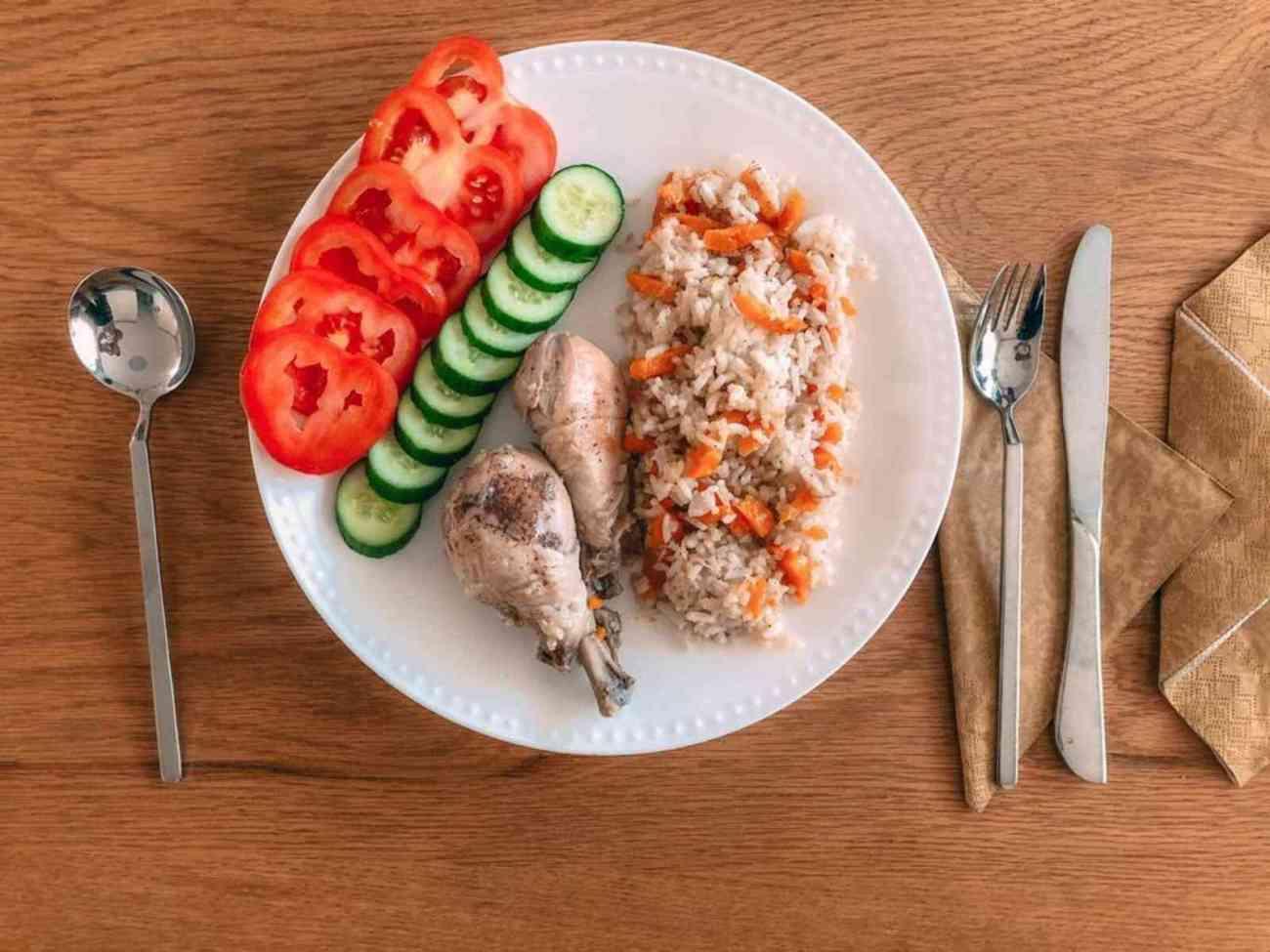 אושפולאו עוף בוכרי מסורתי