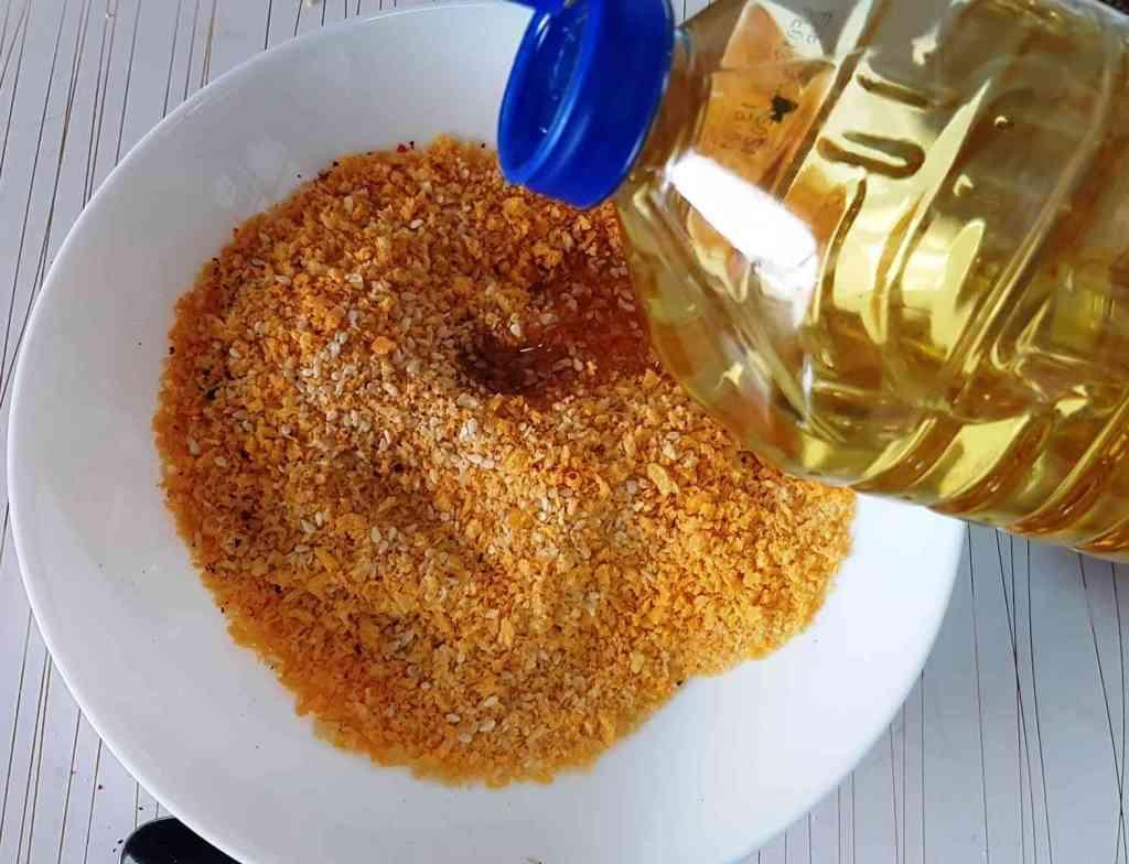 שניצל פילה עוף אפוי בתנור,יותר בריא ויותר טעים!