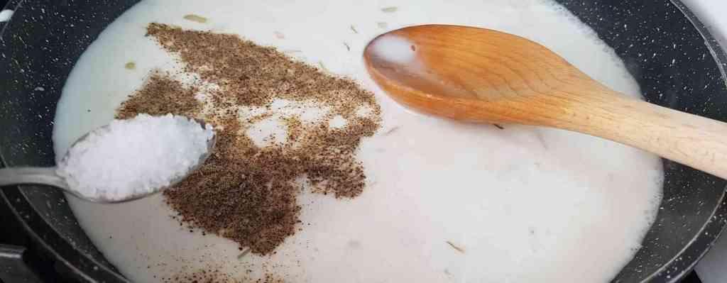 מתכון לפסטה ברוטב קרם קןקןס