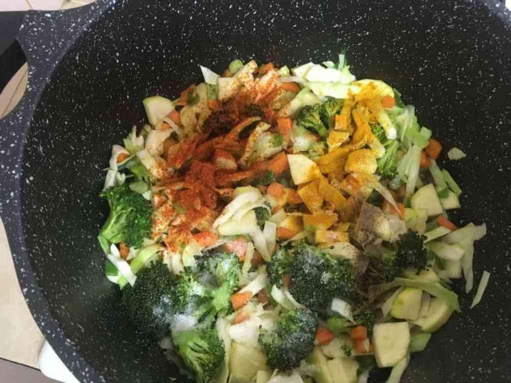 קינואה עם ירקות