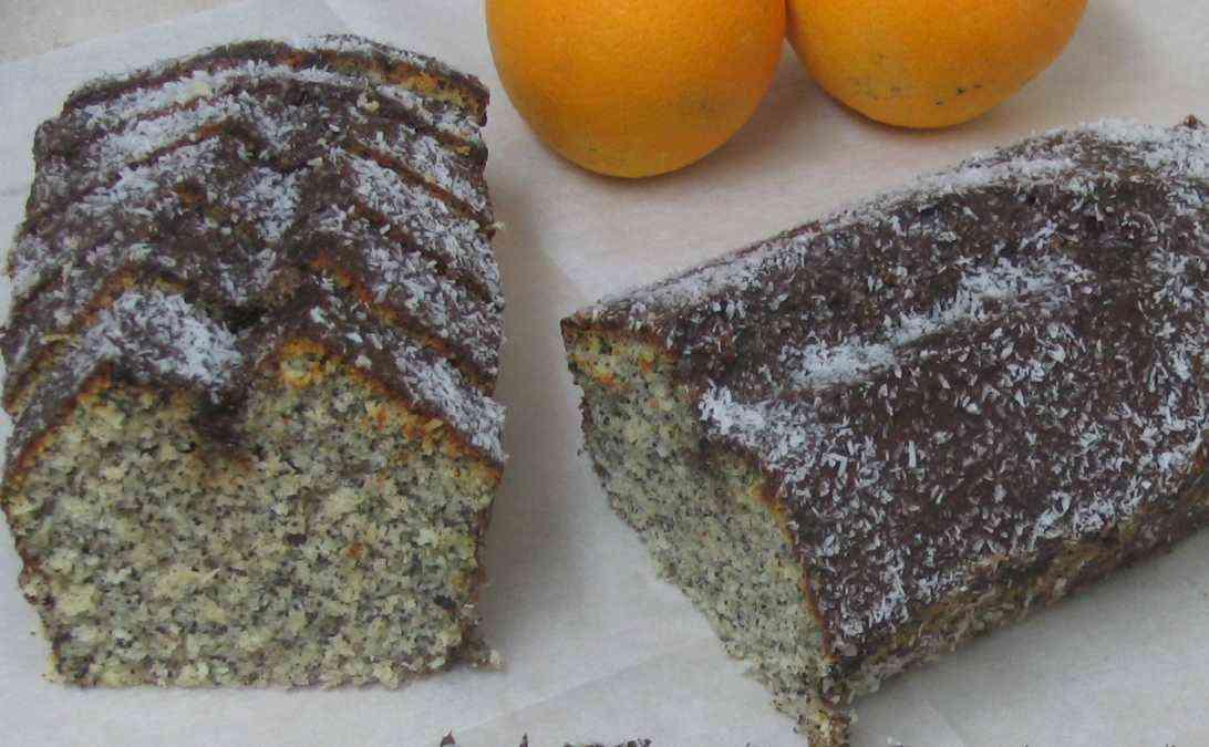 עוגת פרג תפוזים